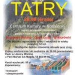 Wycieczka Wakacyjna w Tatry