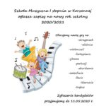 Nabór do Szkoły Muzycznej na rok 2020/2021