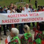 Prezydent Andrzej Duda odwiedził Gminę Korzenna.