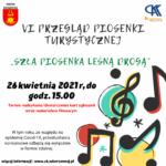 """VI Gminny Przegląd Piosenki Turystycznej """"Szła piosenka leśną drogą"""""""