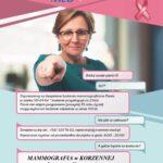 Mammografia w Korzennej!